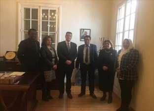 """""""إفريقية النواب"""" تزور سفارتي إثيوبيا وكينيا للعزاء في ضحايا الطائرة"""