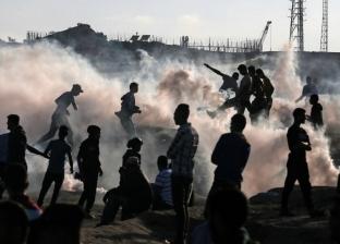 """جمعة """"يسقط وعد بلفور"""".. إصابة 96 فلسطينيا من بينهم حالة حرجة شرق غزة"""
