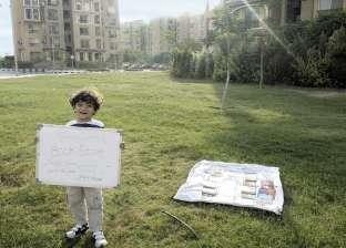 أصغر بائع كتب يتعرض لمضايقات من أمن «القاهرة الجديدة»: أنا ببيع ثقافة