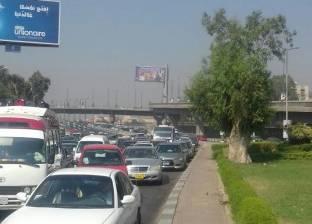 كثافات مرورية أعلى 3 كباري في القاهرة بسبب تعطل 4 أتوبيسات