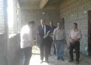 بالصور  ناصر مندور يتفقد مباني الكلية المصرية الصينية للتكنولوجيا