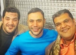 """محمد إمام من داخل لوكيشن """"لمعى القط"""": """"بحتفل بالفلانتين مع أحمد فتحى وأبو ليلة"""""""