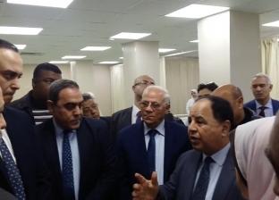 وزير المالية يتفقد وحدتين طبيتين في بورسعيد