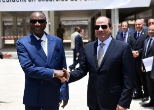 بالصور| تفاصيل زيارة الرئيس السيسي إلى غينيا