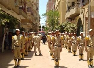 بالصور| تشييع جثمان معاون مركز أبو حماد في الشرقية