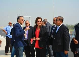 3 وزراء يتفقدون أعمال تنفيذ الطريق الدائري الإقليمي استعدادا لافتتاحه