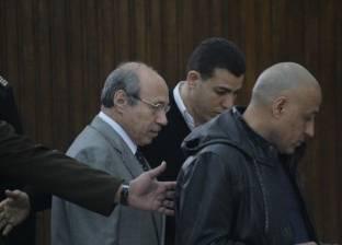 """حبيب العادلي يصل إلى مقر """"الجنايات"""" لنظر أولى جلسات إعادة محاكمته"""