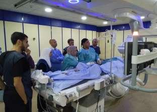 بدء التشغيل التجريبي لقسطرة القلب في مستشفى الزقازيق العام