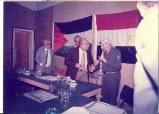 نجل خالد محيي الدين: الرئاسة أبلغتنا بتنظيم جنازة عسكرية للفقيد غدا