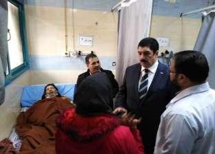 محافظ القليوبية يوفر حجرة عناية مركزة لمريض خلال جولة بشبرا