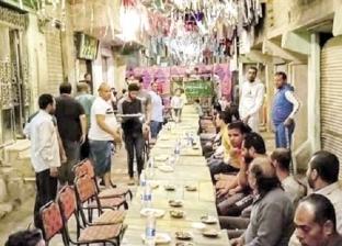 مائدة سحور جماعى فى الشارع: جيران وماشافوش بعض من فترة