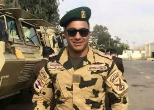 """أرملة الشهيد خالد مغربي تكشف رد فعل ابنها عند سماع اسمه في """"الاختيار"""""""