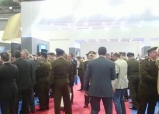 """رئيس الأركان يتفقد جناح مصر في معرض """"إيديكس"""""""