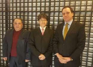 رئيس هيئة تنشيط السياحة يلتقي بالسفير الياباني بمصر