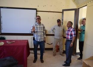 رئيس مدينة نويبع يتفقد لجان الاستفتاء على تعديل الدستور