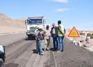 بالصور| وضع حجر أساس محطة تحلية بنويبع في العيد القومي لجنوب سيناء