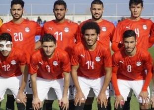صلاح محسن ومصطفى محمد يقودان هجوم المنتخب الأوليمبي أمام جنوب أفريقيا