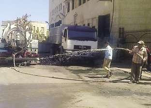 حي الجمرك يشن حملة لتطهير حلقة السمك بالإسكندرية