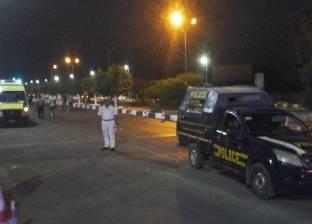 """أمن الإسكندرية يغلق الشوارع المحيطة بـ""""العذراء"""" بعد الاعتداء على سيدة"""