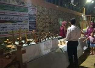 """منتجات ومشغولات يدوية للمدارس والجمعيات الأهلية بممشى """"أهل مصر"""" بأسيوط"""