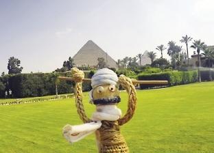 دُمية تجوب مصر بـ«التوك توك» فى 45 يوماً