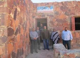 """بالصور  مدير """"ثقافة جنوب سيناء"""" يتفقد الحركة الثقافية بالمناطق الحدودية"""