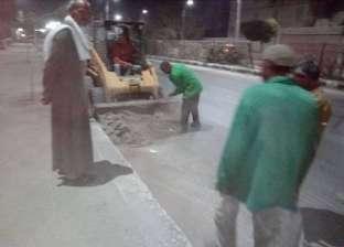 حملات مكثفة لرفع كفاءة منظومة النظافة بأحياء مدينة المنيا