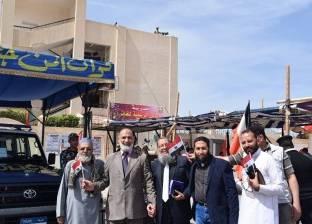 راحة بلجان جنوب سيناء لمدة ساعة وفقا لقرار اللجنة العليا للانتخابات