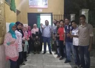 """ورش """"حاسب آلي"""" بمدرسة أحمد طه حسين في أسوان"""