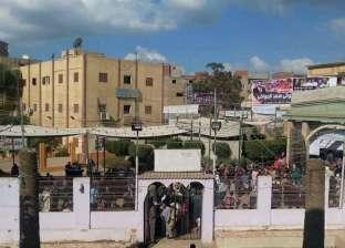 بالصور| إقبال ملحوظ على انتخابات نادي بيلا الرياضي وسط إشراف قضائي
