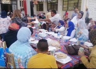 «معانا لإنقاذ إنسان» تقيم إفطار جماعي للنزلاء والمتطوعين: «ده حقهم علينا»