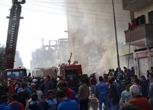 """مصدر أمني: حريق """"كوبري الدقي"""" بسبب انفجار أسطوانة غاز صغيرة.. ولا إصابات"""