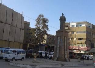 """ربط أرجل تمثال سعد زغلول في بنها بـ""""أسلاك الكاميرات"""".. ونشطاء: إهانة"""