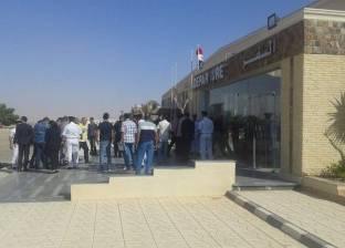 بالصور  لجنة السياحة والطيران بالبرلمان تتفقد مطار العلمين الدولي