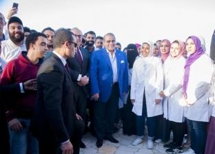 حملة 100 مليون صحة تدق أبواب المصالح الحكومية بشمال سيناء