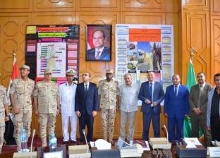 محافظة الإسماعيلية تطبق البيان العملي لمجابهة الأزمات والكوارث