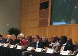 محافظ البنك المركزي: نعمل مع المؤسسات الدولية لتحقيق رغبات شعوبنا