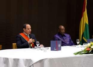 أخبار ماتفوتكش| تفاصيل زيارة الرئيس السيسي إلى غينيا