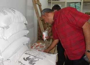 ضبط ربع طن سكر تمويني بمعمل عصائر في بورسعيد