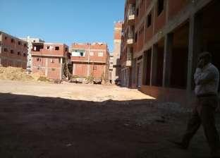 تجهيز المساحة المخصصة لبناء مجمع محاكم الجمالية بالدقهلية