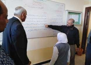 نصر الله: 570 معلم ومعلمة ملتزمون بالعملية التعليمية بمدارس وسط سيناء