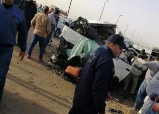 نقل 5 مصابين إلى مستشفى الأميري بالإسكندرية في حادث تصادم كفرالدوار