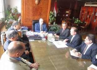 وزير الري يلتقي رئيس غرفة التجارة الأمريكية ورئيس شركة الريف المصري