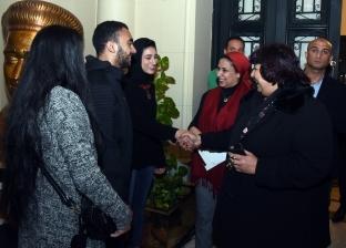 وزيرة الثقافة تشهد انطلاق نادي السينما في أوبرا الإسكندرية