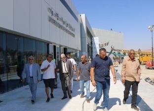 بالصور| محافظ جنوب سيناء يتفقد مركز المؤتمرات الدولية بشرم الشيخ