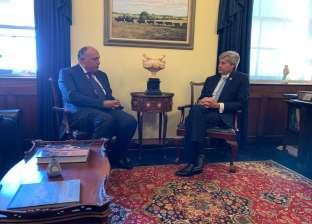 لقاءات مكثفة لوزير الخارجية مع أعضاء الكونجرس الأمريكي