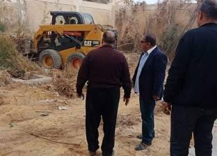 """حملة """"بيت العائلة بالسويس"""" لتطهير المدارس من الأتربة والحشائش"""