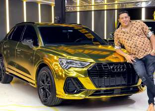 حمو بيكا ينشر صورة سيارته في ثوبها الجديد: عيار 24