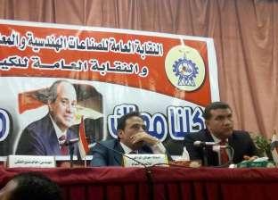 خالد الفقي: عمال مصر قادرون على زيادة الإنتاج تحت أي ظرف
