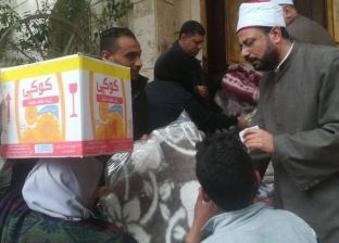 """""""أوقاف الإسكندرية"""" توزع 150 بطانية على مناطق نجع العرب والمأوى"""